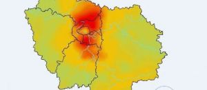 Le centre de Paris est proportionnellement épargné