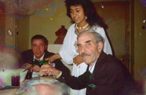 """Addis Abbeba 1991 Deux """"insabbiati"""" ( ensablés )  et la fille de l'un d'entre eux. Imago Mundi Fabienne LeHouerou"""