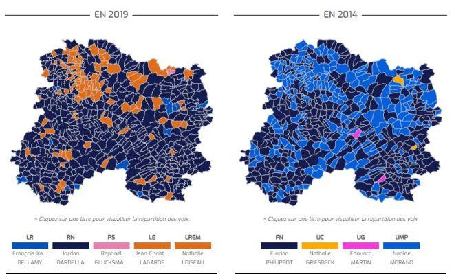 élection européenne 2014 2019