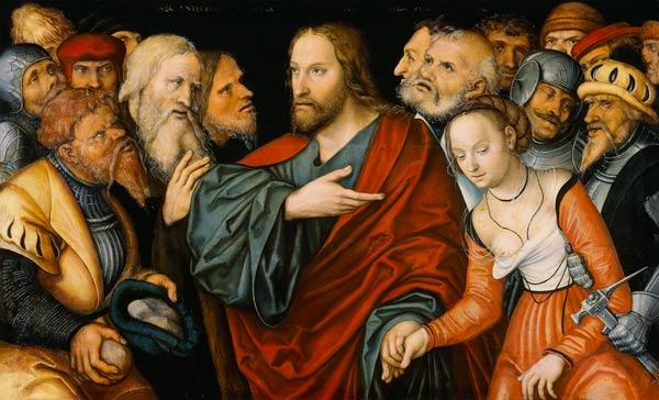 cranach femme adultère